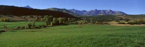 Owl Pass, Ridgeway, le Colorado images stock