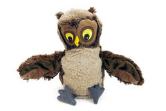 Owl puppet Royalty Free Stock Photos