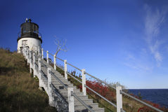 Owl's Head Light Royalty Free Stock Images