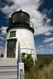 Owl's Head Lighthouse. Maine Royalty Free Stock Images