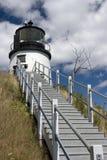 Owl's Head Lighthouse. Maine Royalty Free Stock Photos