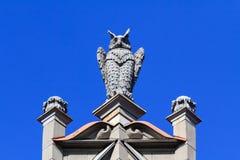 Owl sculpture Stock Image