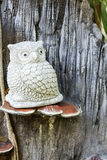 Owl Sculpture Royalty Free Stock Photography