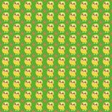 Owl seamless background. Royalty Free Stock Photos