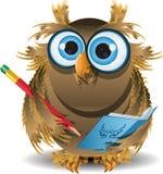 Owl secretary Stock Photos