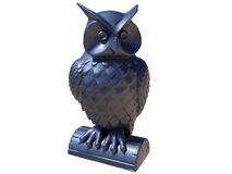 Owl statue Stock Image
