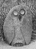 Owl Of Stone Imagens de Stock Royalty Free