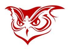 Owl symbol Royalty Free Stock Photos