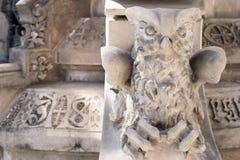 An owl, the symbol of wisdom Royalty Free Stock Photo