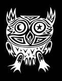 Owl tribal Stock Photography