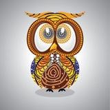 Owl Vector aborigeno illustrazione vettoriale