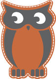 Owl Vector design clipart Royalty Free Stock Photo