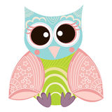 Owl Vector Royalty Free Stock Images