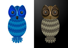 Owl - Vector Illustration Royalty Free Stock Image