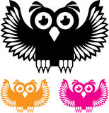 Owl vector Stock Image