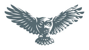 Free Owl - Vector Illustration. Icon Design Stock Photo - 98375830