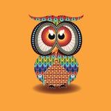 Owl Vector indigène Images libres de droits