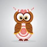 Owl Vector indigène Photographie stock