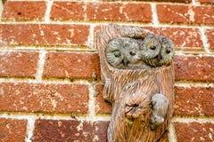 Owl Wall Ornament Royaltyfri Bild