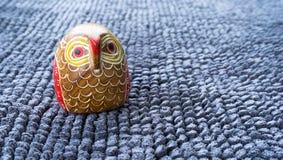 Owl Wood Fotografia Stock Libera da Diritti