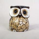 Owl Wood Carving Fotografía de archivo libre de regalías