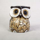 Owl Wood Carving Royalty Free Stock Photography