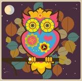 Owldrottning Arkivbild