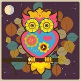 Owldrottning Royaltyfria Foton