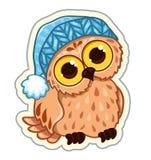 Owlet w kapeluszu Obraz Stock