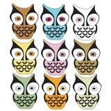 Owls Royalty Free Stock Photos