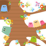 Owls Royalty Free Stock Photo