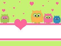 Owls Royalty Free Stock Image