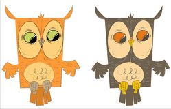 Owls Stock Photos