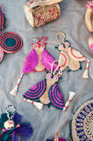 Owls, Art work , Indian handicrafts fair at Kolkata Stock Image