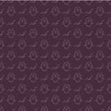 Owls and bats Halloween pattern Royalty Free Stock Images