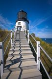 Owls head lighthouse Stock Photos