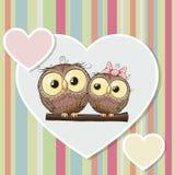 owls två Royaltyfri Bild