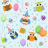 owlsdeltagare Royaltyfria Bilder