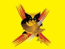 Owlverine stock de ilustración