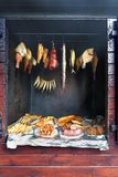 Own home smokehouse Royalty Free Stock Image