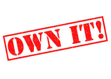 OWN IT! Royalty Free Stock Image