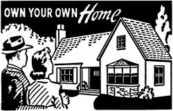 Own Your Own Home 3 Royalty Free Stock Photography