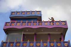 The owner of the small hotel, Shri Lanka Royalty Free Stock Photo