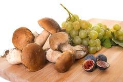 Owoc i borowik edulis Zdjęcie Stock