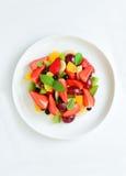 Owoc i jagody sałatkowi zdjęcia royalty free