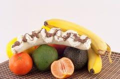 Owoc i śmietanka Obrazy Stock