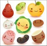 Owoc i warzywo kolekcja Fotografia Royalty Free