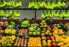 Owoc I Warzywo na pokazu sklepie spożywczym Obrazy Stock