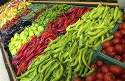 Owoc i warzywo na supermarkecie Fotografia Stock