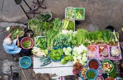 Owoc i warzywo przy lokalni rynki Fotografia Stock